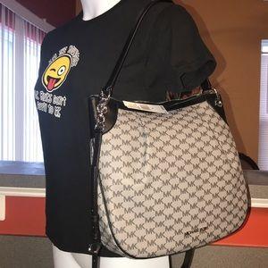 Michael Kors Large Black convertible shoulder bag ... 73b124b1240e4
